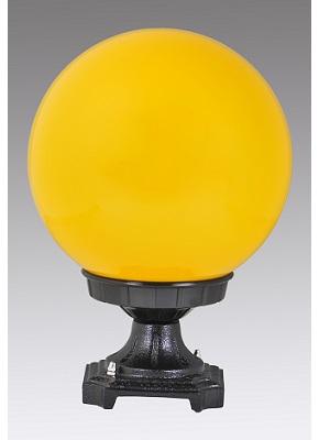 燈罩工廠製造:10吋黃色牆頭燈