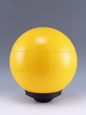 燈罩工廠製造:10吋黃色燈罩