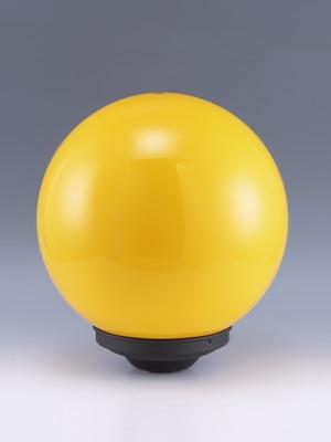 燈罩工廠製造:12吋黃色燈罩